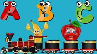 A B C Fruit Train I A B C SONG-Alphabets for kids cvs- kindergarten schoo -ST SPECIAL KIDS SUPER TV