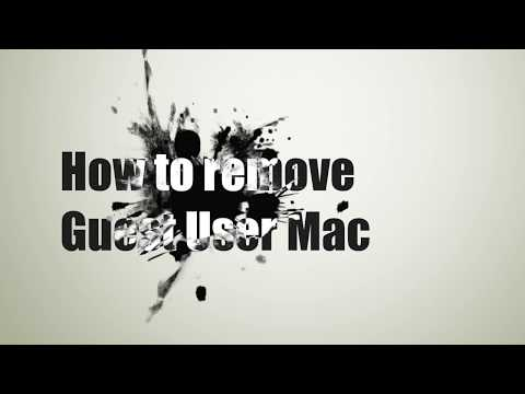 Completely remove Guest User on Mac: Yosemite, Mavericks, and Mountain Lion (solution)