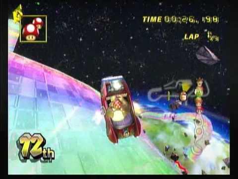 [MKWii] Rainbow Road Kart SC On 100cc