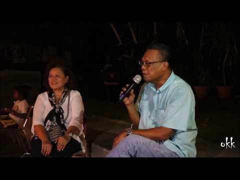 Del  Cio Isechal at Lighting Up Palau