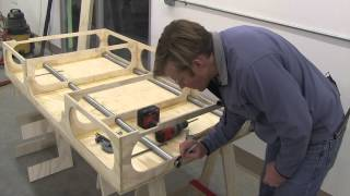 Building The Paulk Total Station Part 7 :shop Made T-track & Table Saw Supports