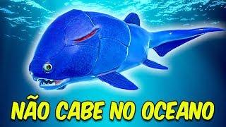 O PEIXE LEVEL 2000 NÃO CABE NO OCEANO [NÃO É CLICKBAIT] | Feed and Grow Fish Mp3