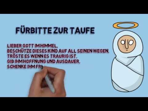 Frbitten Taufe  Frbitten zur Taufe  YouTube