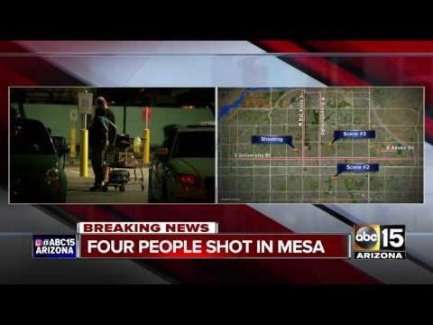 BREAKING: 4 people found injured at different scenes in Mesa