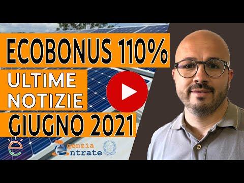 ECOBONUS 110% - Ultime notizie GIUGNO 2021: Addio ai General Contractor