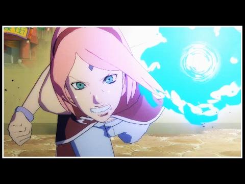 """POWER!"" SAKURA UCHIHA (Road To Boruto) Online Ranked Matches | Naruto Storm 4 Road To Boruto |"