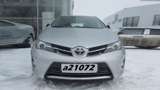 Toyota Auris (2013) Тест-драйв.Anton Avtoman.
