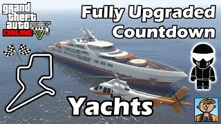 Fastest Yachts - Best Fully Upgraded Yacht Vehicles In GTA Online