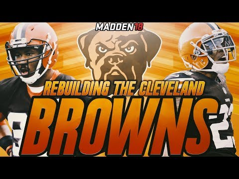 Rebuilding The Cleveland Browns | Jabrill Peppers is a Beast! Madden 18 Connected Franchise Rebuild