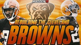 Madden 18 Connected Franchise | Rebuilding The Cleveland Browns | JABRILL PEPPERS IS A BEAST!