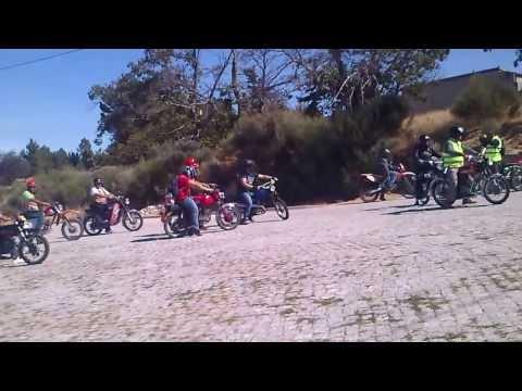 Passagem por João Antão do passeio de motos de 50cc de Santana D'azinha 2013