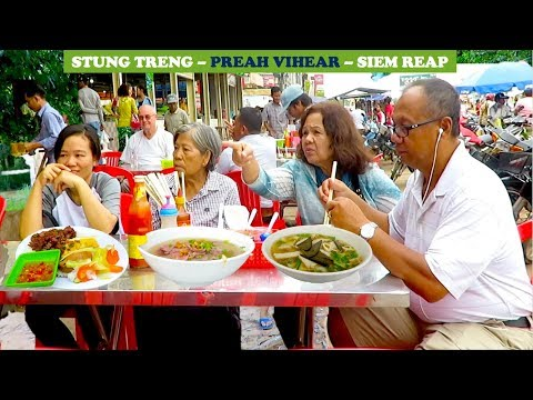 Travel from Stung Treng to Preah Vihear and Siem Reap Province | Trip on Vacation in Cambodia