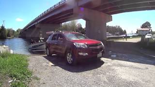 FWD Chevy Traverse Vs Sand Boat Ramp