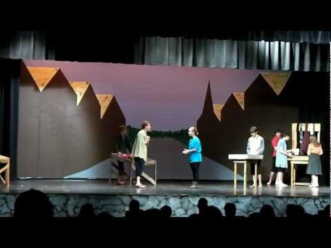 Taming of the shrew act 1 White Mountains Regional High School