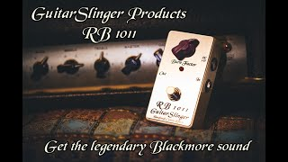 GuitarSlinger Products RB 1011- The Ultimate Blackmore Sound