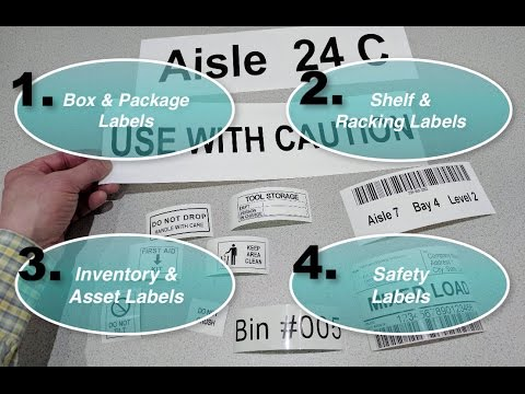 How to Label your Warehouse, Tools and Assets WITH EASE!
