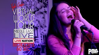 Baixar Live Nation Presents: Taylor Castro 'Girl, Afraid' Virtual World Tour - Middle East  (1 Min Recap)