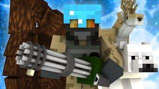 Zagi Modded Minecraft - EVENTYRET STARTER! #1