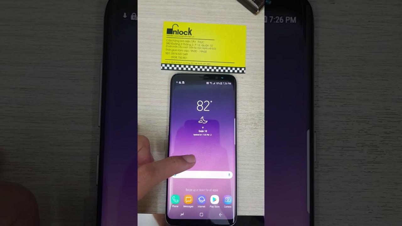 Hướng dẫn unlock Samsung Galaxy S8 S8 Plus T-mobile bằng code