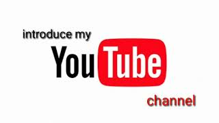 Introduce to My Channel   G&G Entertains