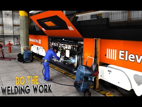 BUS MECHANIC AUTO REPAIR SHOP/ELEVATED BUS(HD)