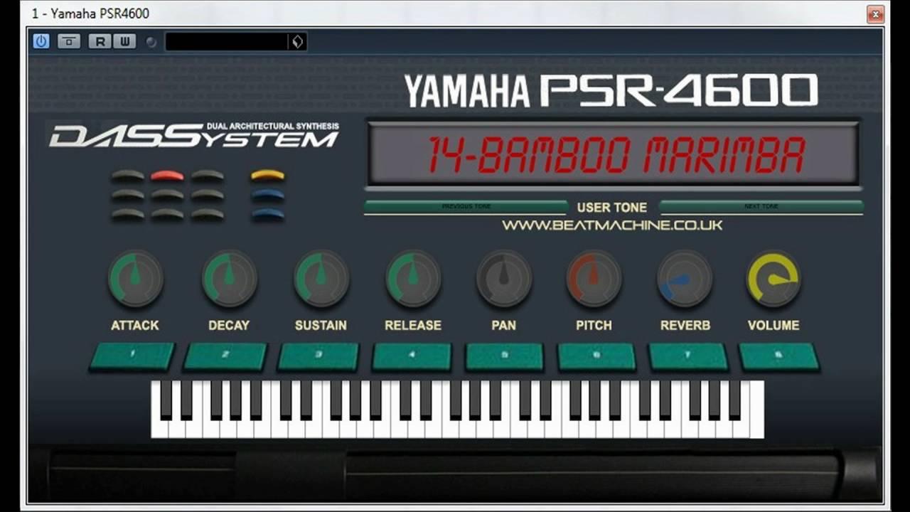Yamaha PSR-4600 Arranger Workstation VST Emulation