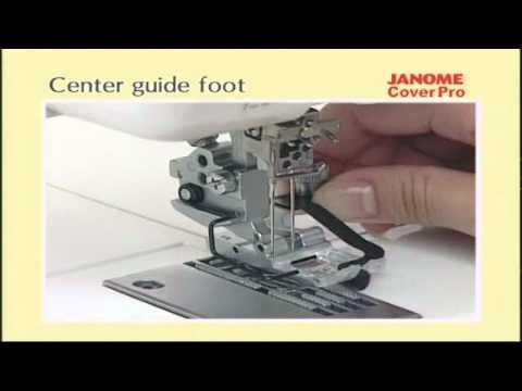 Janome USA CoverPro Tshirt Swimwear Sewing Knits Series Gorgeous Sewing Machine For Swimwear