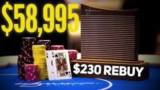 (Poker Vlog) The Wynn $230 Rebuy