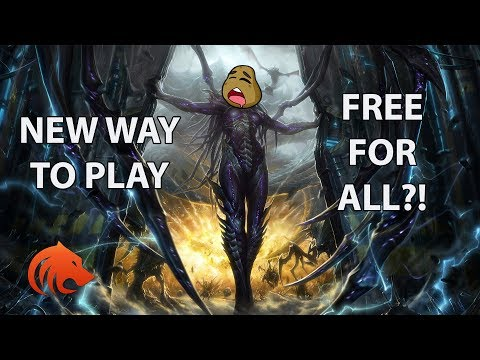 StarCraft 2: *NEW* Free For ALL?! (WAY MORE FUN!)