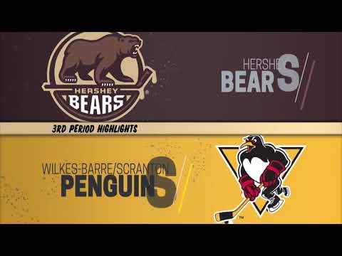 2/13/19 - Hershey Bears vs. Wilkes-Barre/Scranton Penguins