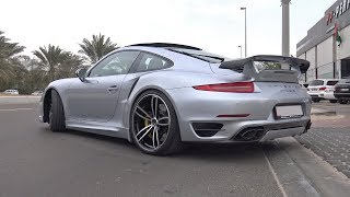 TechArt Porsche 991 Turbo S MkI - Start Up & Acceleration!