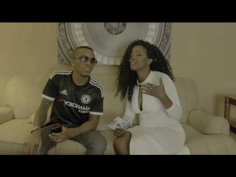 "Aisha interviews Tekno (@alhajitekno) at the NYAB ""IRI JI"" GALA"