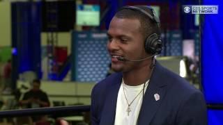 Jim Rome: Deshaun Watson on NFL Draft and Dabo