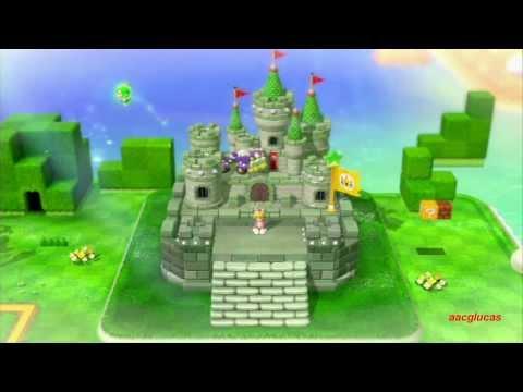 Guia Super Mario 3D world 100% (5 estrellas) Mundo 1