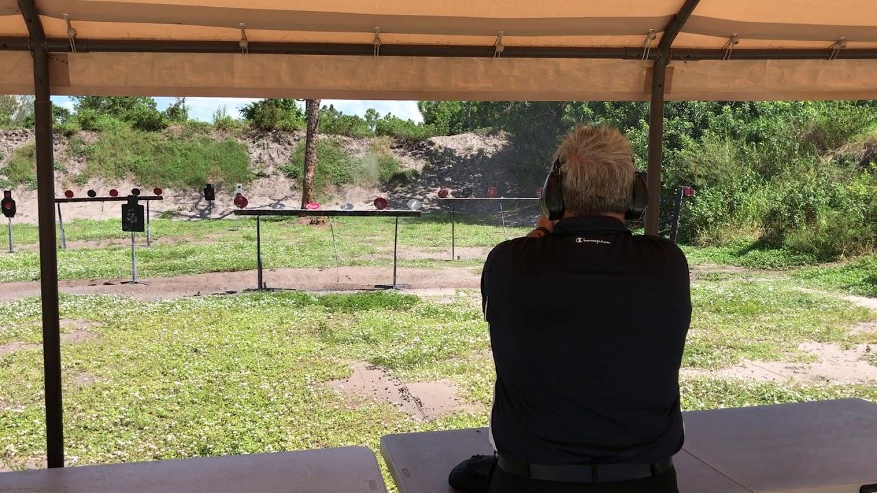 Okeechobee Shooting Sports >> Twogunterry Practicing At Okeechobee Shooting Sports On The Plate