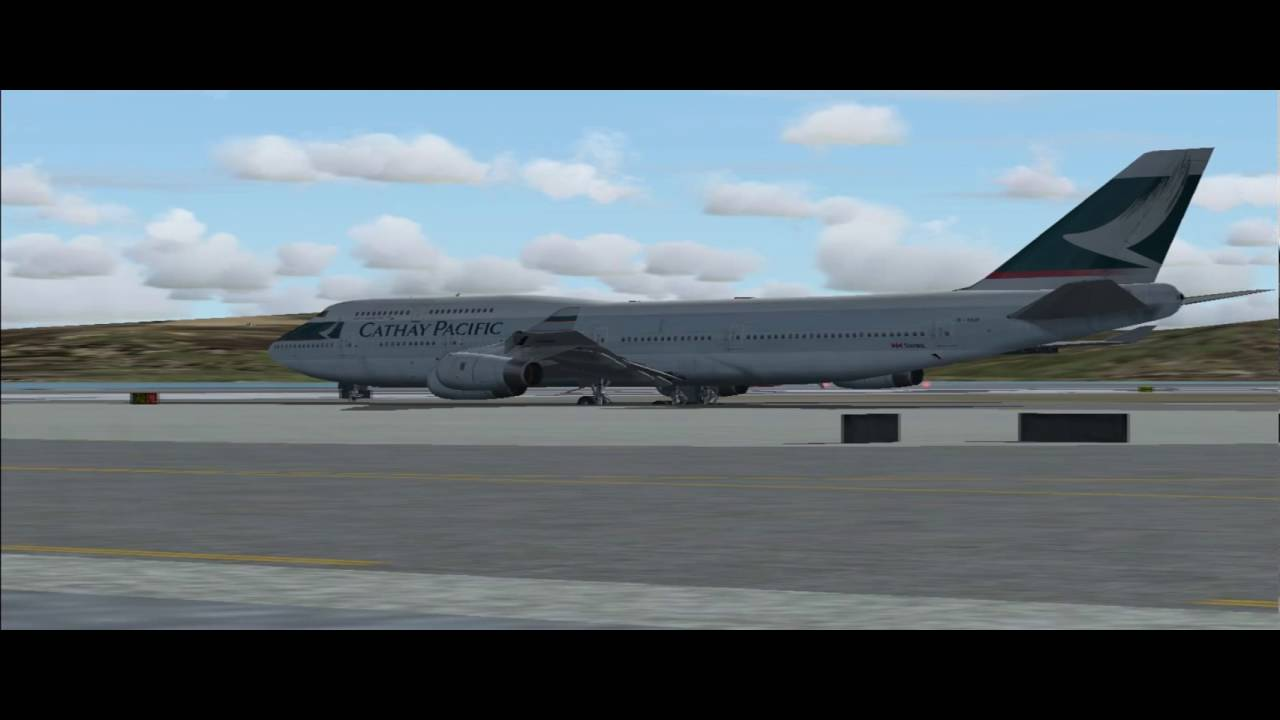 Cathay pacific 747 fsx
