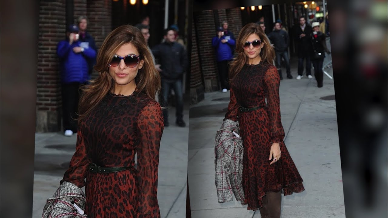 Eva Mendes Look Purr-Fect After Revealing She's Tired of Being Seen as Sexy