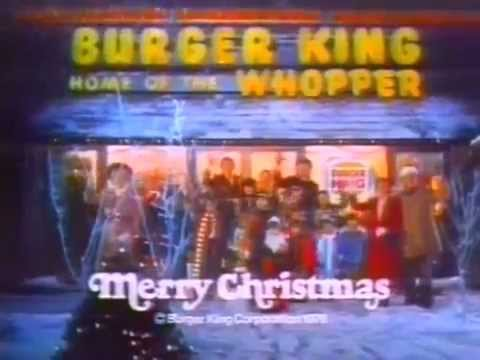 (1976) Burger King Christmas Commercial