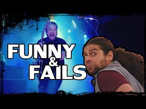 Coheed and Cambria - Fails and Funny moments (Live)