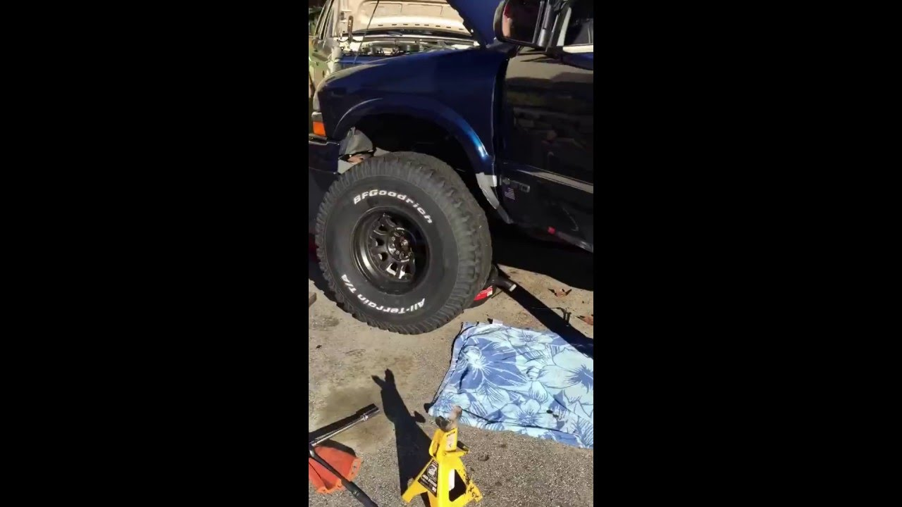 small resolution of 6 inch lift on 2001 chevy s10