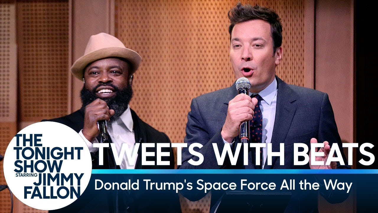 Tweets with Beats: Donald Trump's Space Force All the Way