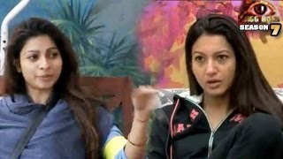 Bigg Boss 7 Gauhar INSULTS Tanisha in Bigg Boss 7 6th November 2013 Day 52 FULL EPISODE