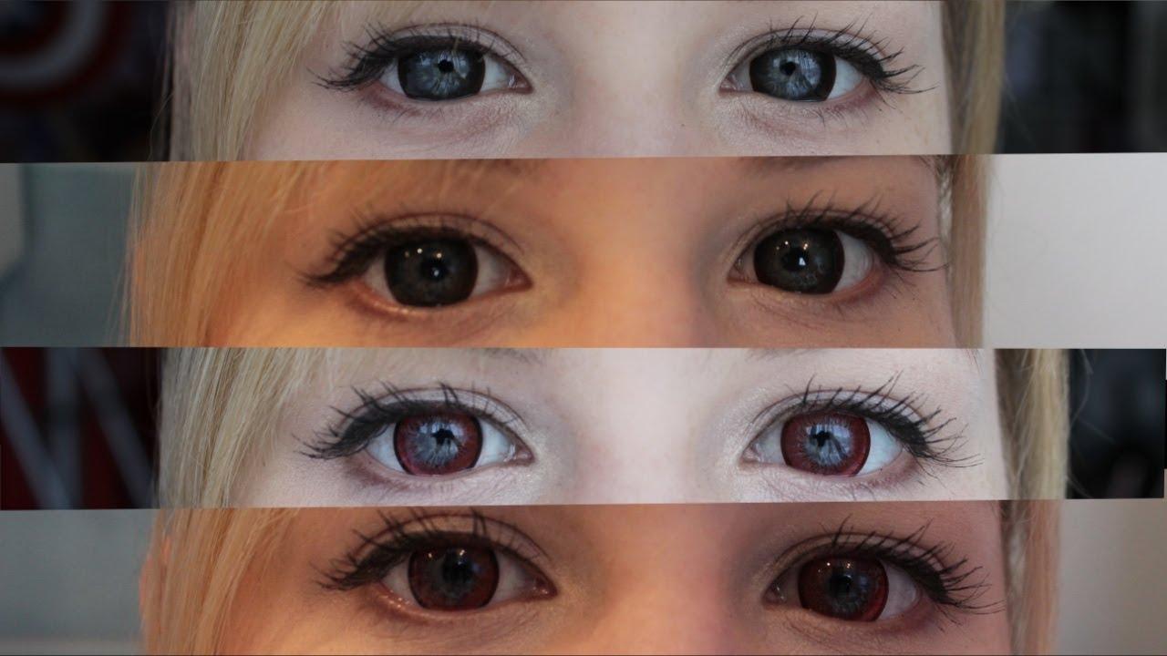 circle lenses review (light eyes) - G&G Dolly Brown / EOS ...
