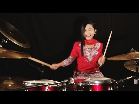 Are Re Are Ye Kya Hua - Dil To Pagal Hai Drum Cover by Nur Amira Syahira