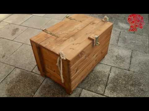 woodworking-#-47---diy-wooden-chest---reclaimed-wood