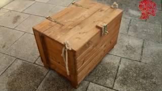 Woodworking # 47 - DIY Wooden Chest - Reclaimed Wood woodworking woodworking projects woodworking for mere mortals ...
