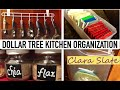 ☆ DOLLAR TREE ORGANIZING | KITCHEN ☆