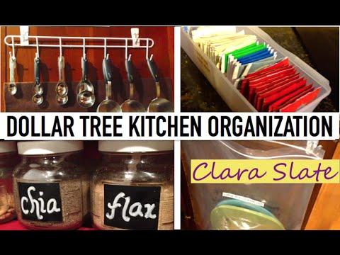 ☆ DOLLAR TREE ORGANIZING | KITCHEN ☆