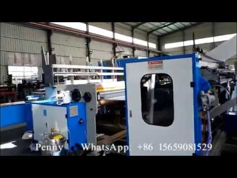 Russian Style Wrapper-type High Speed High Output Toilet Paper and Kitchen Towel Production Line