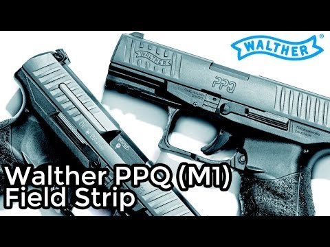 Walther PPQ Field Strip